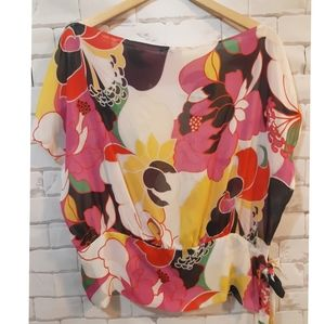 $5 Add-on Le Chateau Flowy Printed Blouse